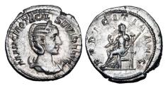 Ancient Coins - OTACILIA SEVERA, wife of Philip, 244-249 AD.  AR Antoninianus.