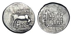 Ancient Coins - ILLYRICA, Dyrrachium 229-100 BC.  AR Victoriate
