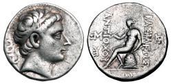 Ancient Coins - SELEUKID KINGDOM.  Antiochos III, 223-187 BC. First reign, 223-221 BC.  AR Tetradrachm.