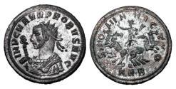 Ancient Coins - PROBUS, 276-282 AD.  Silvered Antoninianus.