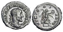 Ancient Coins - MAXIMINUS I THRAX, 235-238 AD.  AR Denarius.