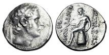 Ancient Coins - SELEUKID KINGDOM.  Antiochos III, 223-187 BC.  AR Tetradrachm