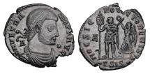 Ancient Coins - VETRANIO, 350 AD.   Æ Centenionalis.
