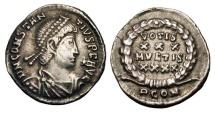 Ancient Coins - CONSTANTIUS II, 337-361 AD.  AR Siliqua.