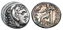 Ancient Coins - MACEDON KINGDOM.  Alexander III, 336-323 BC.  AR Tetradrachm.