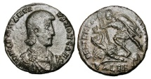 Ancient Coins - CONSTANTIUS GALLUS, Caesar, 351-354 AD.  Æ Centenionalis.