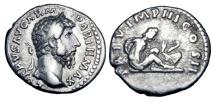 Ancient Coins - LUCIUS VERUS, 161-169 AD.  AR Denarius