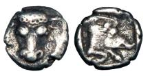 Ancient Coins - PHOKAIA, Phokis.  460-457 BC.  AR Obol.  ex BCD collection.