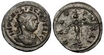 Ancient Coins - TACITUS, 275-276 AD.  Æ Antoninianus.  ex. John Roberts-Lewis collection.