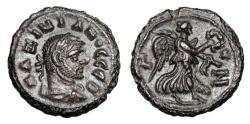 Ancient Coins - ROMAN EGYPT.  Maximianus, 296-305 AD.  Potin Tetradrachm.