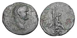 Ancient Coins - VESPASIAN, 69-79 AD.  ® As.