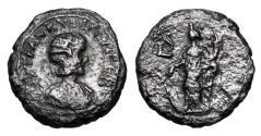 Ancient Coins - ROMAN EGYPT.  Tranquillina, wife of Gordian III, 238-244 AD.  Billon Tetradrachm.  Very Rare.