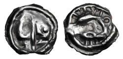 Ancient Coins - CELTIC GAUL, Lingones.  I Century BC.  Potin Unit.