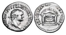 Ancient Coins - TITUS, 79-81 AD.  AR Denarius.