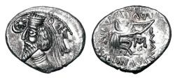 Ancient Coins - PARTHIA.  Phraatakes, 2 BC-4 AD.  AR Drachm.  ex PNC collection.