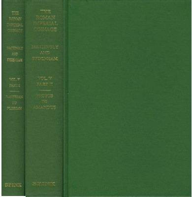 Ancient Coins - RIC5:  Mattlingly and Sydenham.  The Roman Imperial Coinage Volume 5 (2 Vols)