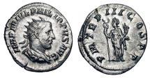 Ancient Coins - PHILIP I, 244-249 AD.  AR Antoninianus.