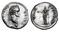 Ancient Coins - GALBA, 68-69 AD.  AR Denarius.  Rare.
