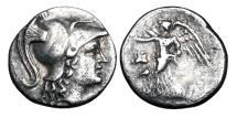 Ancient Coins - PAMPHYLIA, Side.  190-36 BC.  AR Drachm.