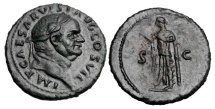 Ancient Coins - VESPASIAN, 69-79 AD.  AE As.