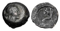 Ancient Coins - PTOLEMAIC KINGDOM.  Arsenoe III, wife of Ptolemy IV, 221-205 BC.  Æ12.