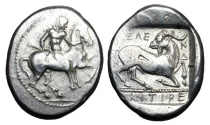 Ancient Coins - CILICIA, Kelenderis.  440-400 BC.  AR Stater.