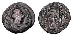 Ancient Coins - HEPHTHALITES.  ÒNapki MalkaÓ series, 475-575 AD.  Æ Drachm.