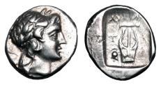 Ancient Coins - LYCIA.  Lycian League,   Tlos.  II-I Century BC.  AR Drachm.