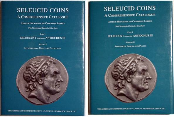 Ancient Coins - Houghton A. and Lorber, C.  Seleucid Coins, a Comprehensive Catalogue. Part I: Seleucus I – Antiochus III. Two volumes.