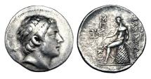 Ancient Coins - SELEUKID KINGDOM.  Seleukos III, 226-222 BC.  AR Tetradrachm