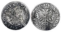 World Coins - AUSTRIA.  Ferdinand II, 1619-1637 AD.  AR 3 Kreutzer …