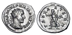 Ancient Coins - PHILIP II,  247-249 AD.  AR Antoninianus as Augustus.