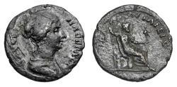 Ancient Coins - TROAS, Ilium (Troy).  Faustina II, wife of Marcus Aurelius, died 176 AD.  AE24.  Rare.