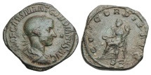 Ancient Coins - GORDIAN III, 238-244 AD.  ® Sestertius