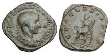GORDIAN III, 238-244 AD.  ® Sestertius