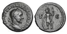 Ancient Coins - TRAJAN DECIUS, 249-251 AD.  Æ Semis.