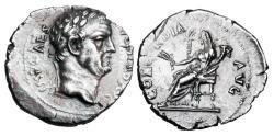 Ancient Coins - VESPASIAN. 69-79 AD.  AR Denarius.  Good style, high relief.