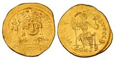 Ancient Coins - BYZANTINE EMPIRE.  Justin II, 565-578 AD.  Gold Solidus.