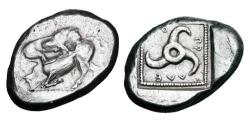 Ancient Coins - LYCIAN DYNASTS.  Kuprilli,  470-440 BC. AR Stater.