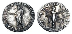 Ancient Coins - INDO-SCYTHIANS.  Maues, 90-57 BC.  AR Tetradrachm.