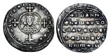 Ancient Coins - BYZANTINE EMPIRE.  John I Tzimeskes, 969-976 AD.  AR Miliaresion.