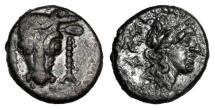 Ancient Coins - PHOKAIA, Phokis.  Federal Coinaige. after 339 BC.  Æ17.  ex Charles Reeve collection, 1890-1930.
