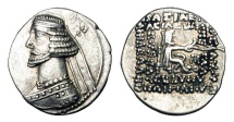 Ancient Coins - PARTHIA.  Mithradates III, 57-54 BC.  AR Drachm.
