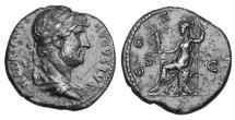 Ancient Coins - HADRIAN, 117-138 AD.  Æ Semis.