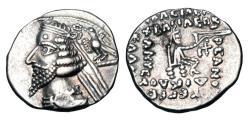 Ancient Coins - PARTHIA.  Phraates IV, 38-2 BC.  AR Drachm.