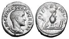 Ancient Coins - MAXIMUS, Caesar, 235-238 AD.  AR Denarius.