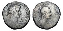 Ancient Coins - ROMAN EGYPT.  Galba, 68-69 AD.  AR Tetradrachm