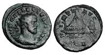 Ancient Coins - ALLECTUS, 293-296 AD.  AE Quinarius.