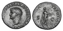 Ancient Coins - NERO, 54-68 AD.  AE As.
