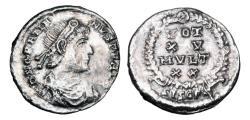 Ancient Coins - GRATIAN, 367-383 AD.  AR Siliqua.